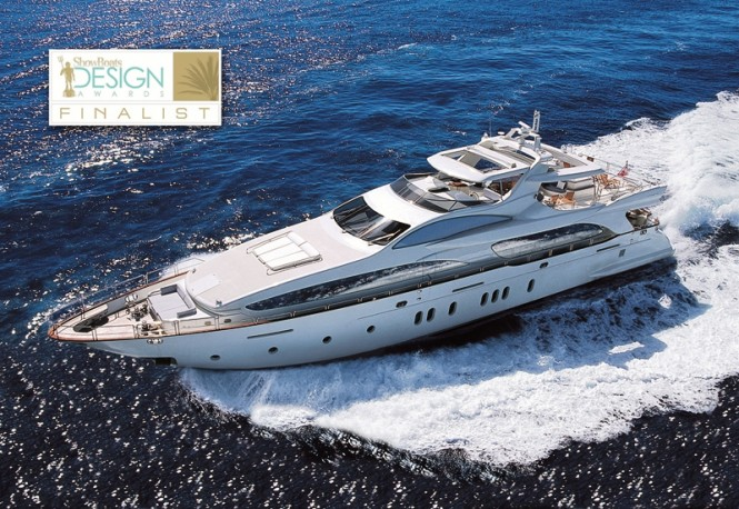 Azimut Grande 116 Motor yacht Cinque Finalist for the ShowBoats Design Awards 2011