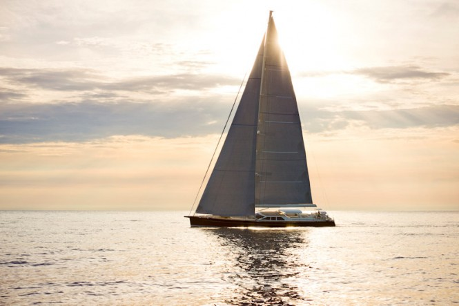 BALTIC 112 Sailing yacht Canova will be delivered by Baltic Yachts in July ...