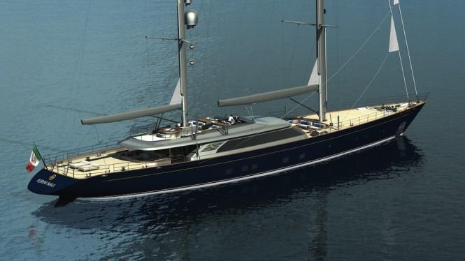 C2193 sailing yacht by Perini Navi