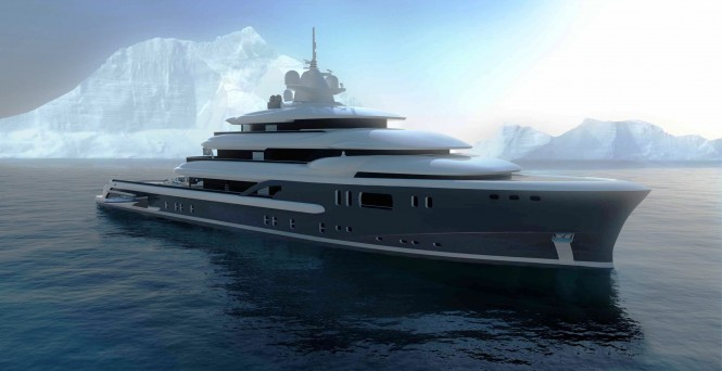 Explore 70 Superyacht – a Multifunction World Explorer concept by Newcruise