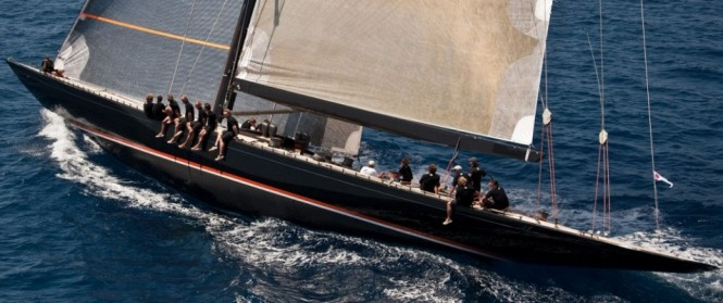 F-class superyacht Firefly's racing debut at Superyacht Cup 2011 - Credit F Class Yachts