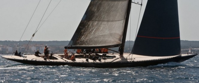 Sailing yacht Firefly's racing debut at Superyacht Cup, Palma - Credit F Class Yachts