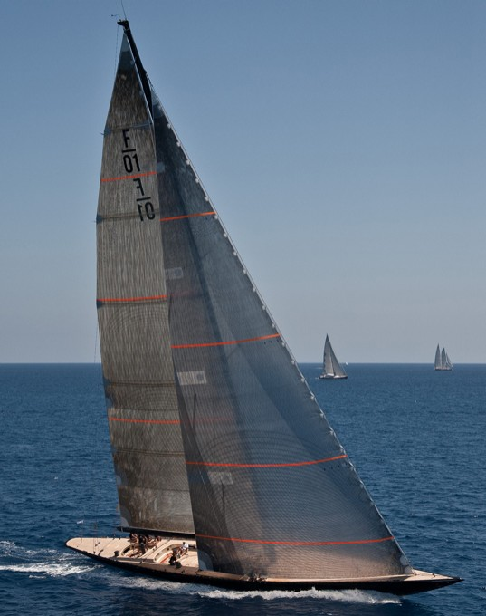 F-class sailing yacht Firefly racing debut at Superyacht Cup - Credit F Class Yachts
