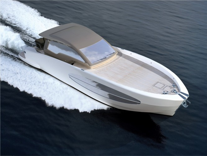 The Koot 54 yacht is built in Tunisia by a working team headed by Italian ...