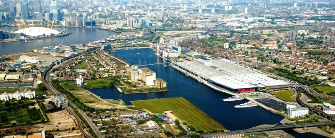 London Superyacht Berthing 2012 and beyond - Royal Docks 2012