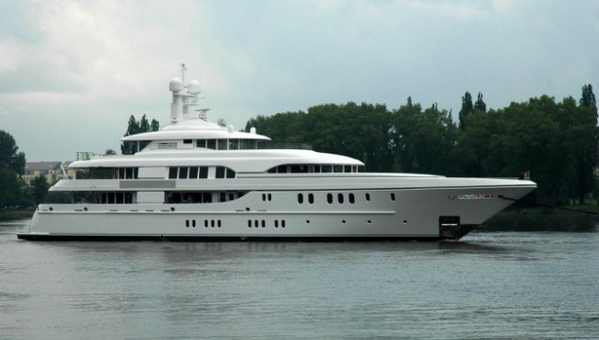 Luxury charter yacht Solemates II by Lurssen available for charter in the Mediterranean