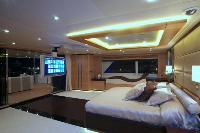 Master Suite - Bilgin superyacht Tatiana