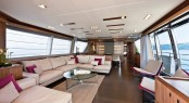 Motor yacht Desta launched by Ferretti Group – The first Custom Line 100