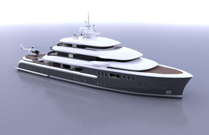 Motor yacht EXPLORE designed by Newcruise Yacht Projects and Design
