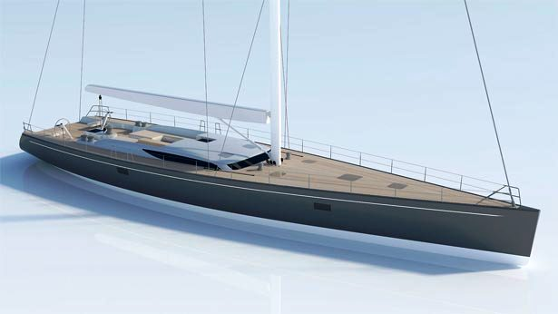 New Baltic 105 Custom Sailing Yacht – The 32m Superyacht Project B107 designed by German Frers