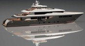 New DSME 43m motor yacht by Andrea Borzelli  