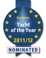 Oyster 625 sailing yacht nominated for European Yacht of the Year.