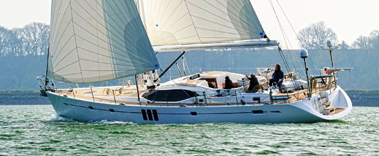 Oyster 625 sailing yacht nominated for European Yacht of the Year