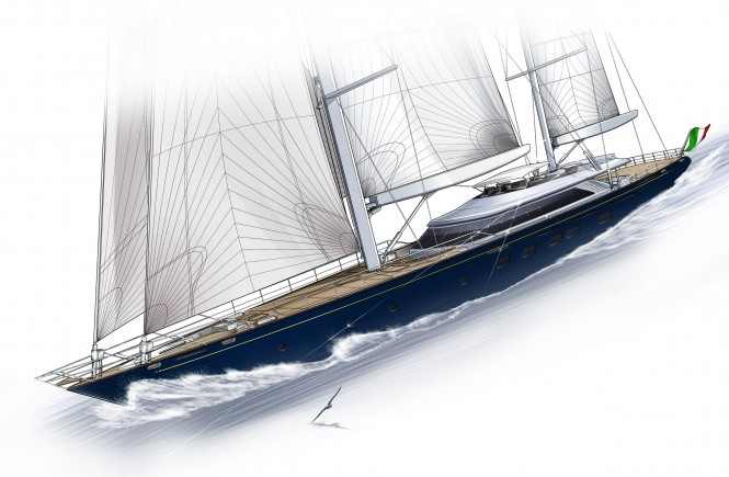 Perini 60m Yacht Series - ketch C.2193
