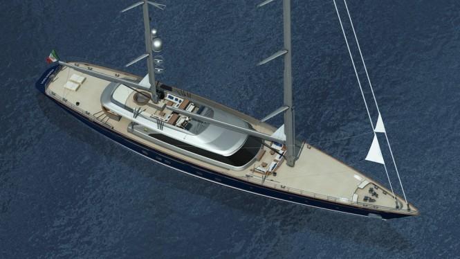 Perini Navi Sailing Yacht c2193