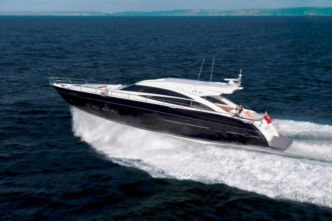 Princess V72 sports yacht