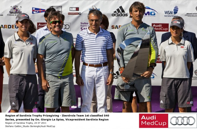 Region of Sardinia Trophy, 24 07 2011 © Stefano Gattini Audi MedCup
