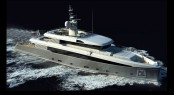 Rossi Navi 45m motor yacht FR024 in build � A superyacht by Design Studio Spadolini