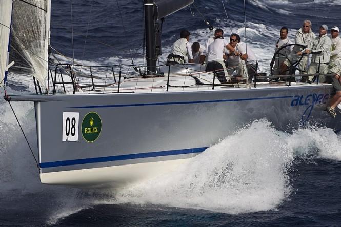 Sailing yacht ALEGRE, Andres Soriano Photo credit Rolex  Carlo Borlenghi