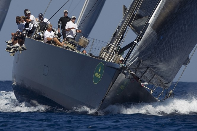 Sailing yacht Y3K, Claus Peter Offen Photo credit Rolex  Carlo Borlenghi
