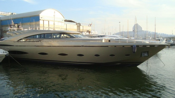 The AB 140 motor yacht Elizaveta launched by AB Yachts - FIPA GROUP in Viareggio