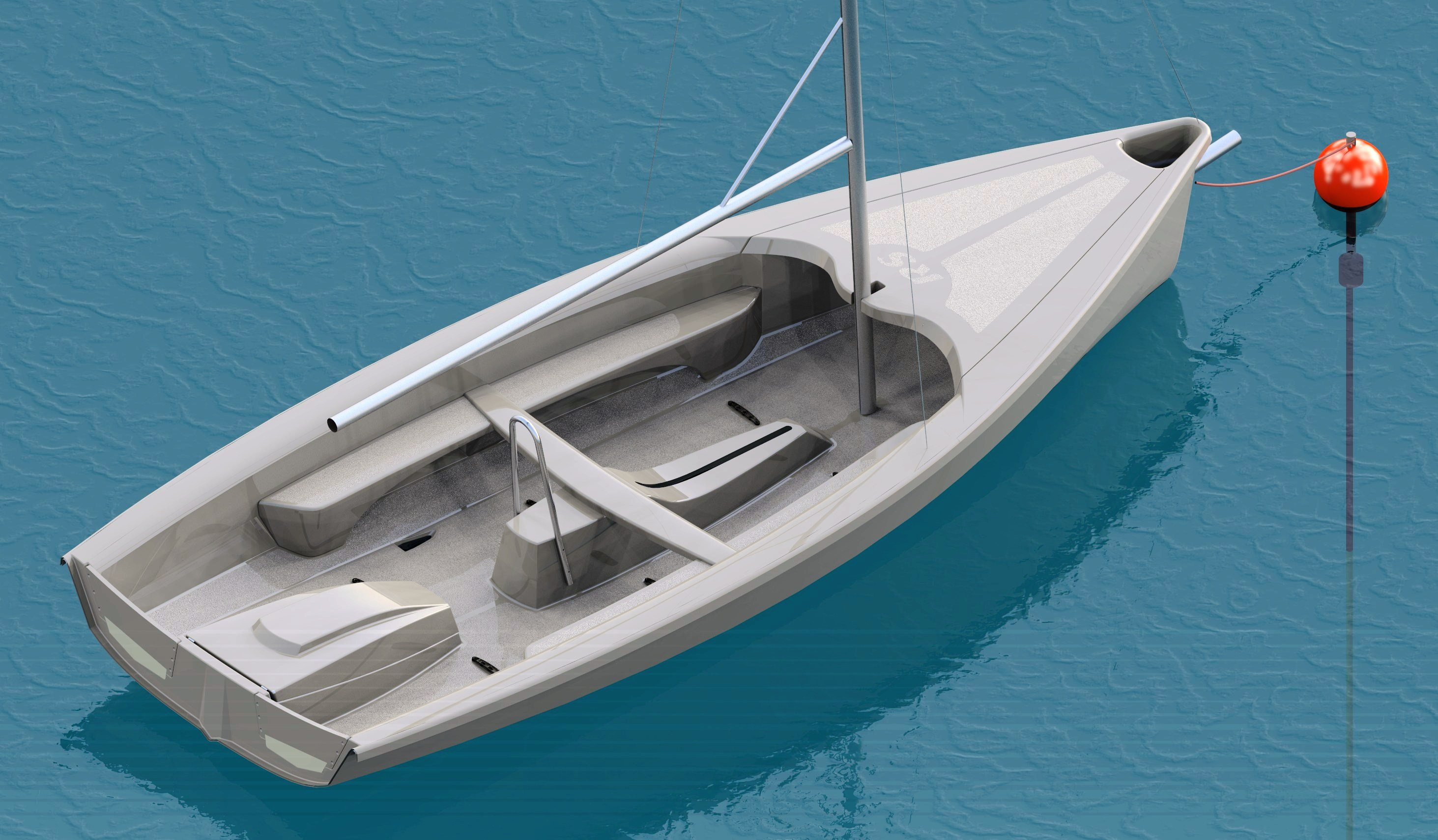 Timotty: Easy to Build a sailing dinghy