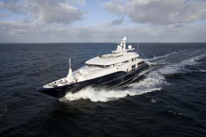 The stunning Newcruise designed superyacht Sapphire