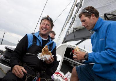 Transatlantic Race 2011 Sailing yacht Rambler 100 wins LINE HONORS - Photo by Mark Lloyd