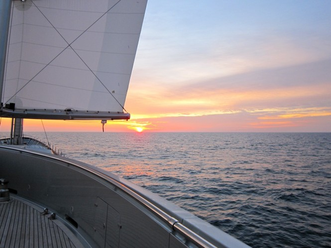 Transatlantic Race 2011 - Stunning horizon - Photo by Jeremy Smith