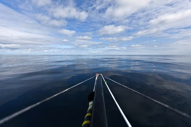 View from onboard Sailing yacht Vanquish - Photo credit Amory Ross