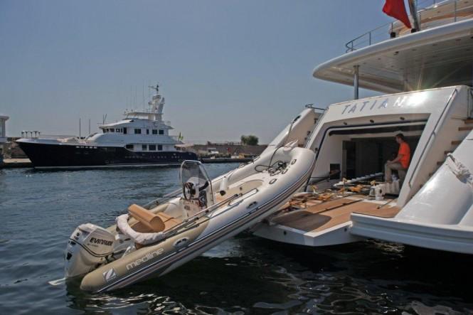 Yacht Tatiana by Bilgin yachts - tender