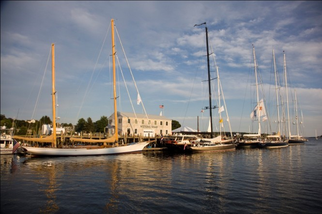 2011 Shipyard Cup Sailing yacht Whisper Wins Day One -  Photo by Billy Black