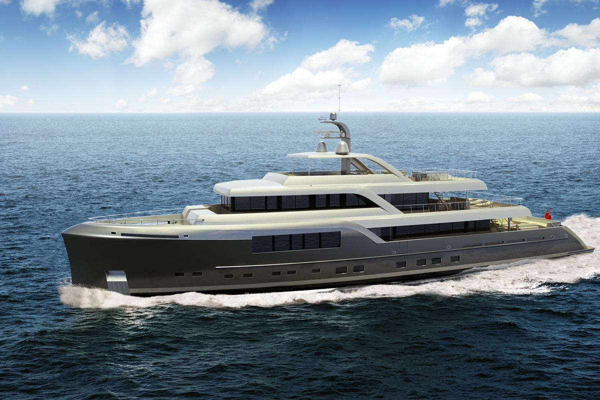 46m neo classic long range motor yacht by mcc yachts