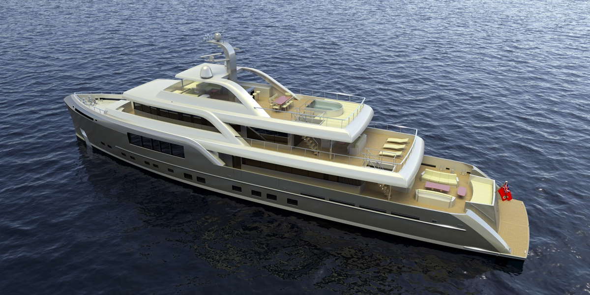 46m Neo Classic Long Range Motor Yacht By Mcc Yacht