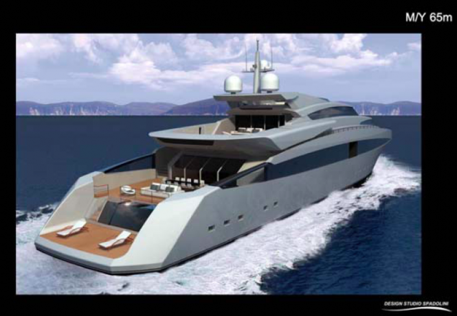 65m Rossi Navi superyacht by Spadolini Design Studio