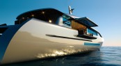 CNB 43.20 m superyacht designed by German Frers Image courtesy of CNB Superyachts