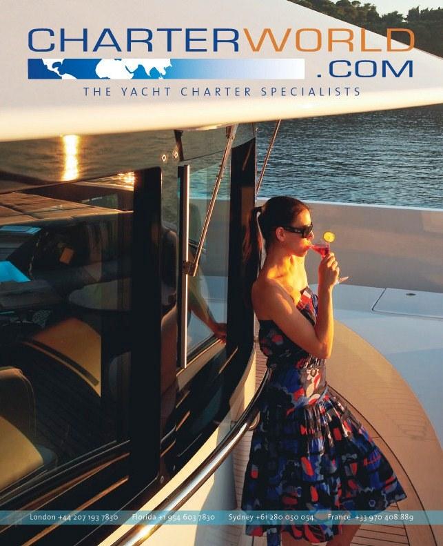Superyacht World Magazine Charter World Magazine Advert