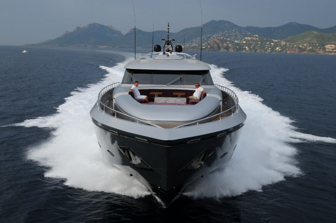 A Luxury Mediterranean motor yacht