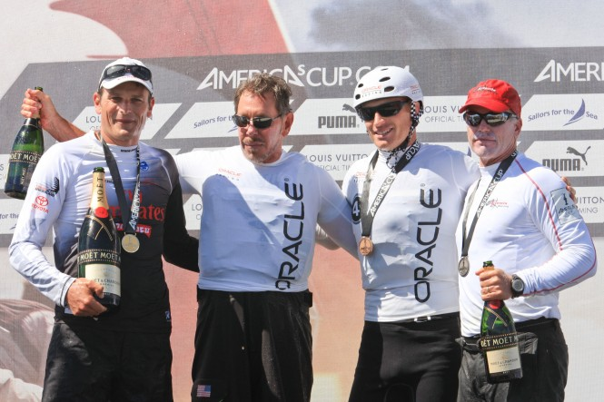 Emirates Team New Zealand wins the first AC World Series Cascais, Portugal  ACEA (2011) Photo G. Martin-Raget