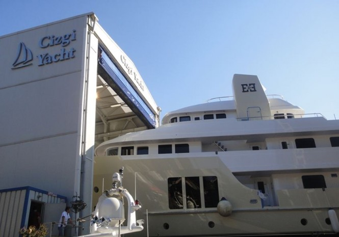 Expedition superyacht E & E (ex Jasmin II) launched by Cizgi Yachts in Turkey