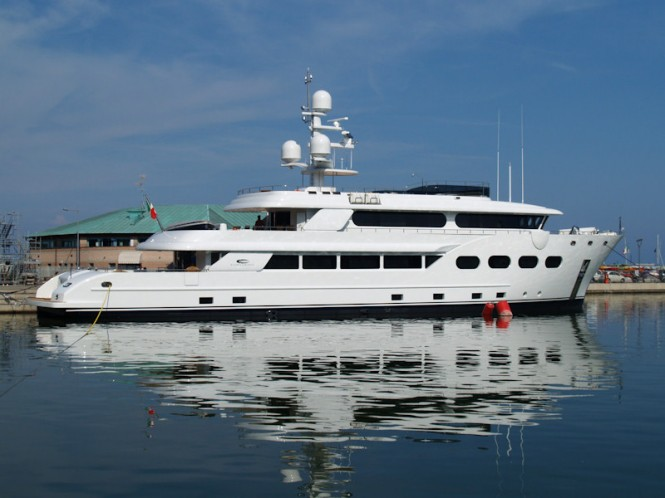 Explorer motor yacht Baron Trenck delivered by Eurocraft 