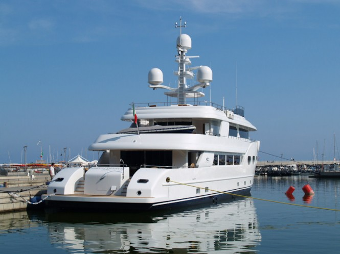 43.5m Explorer superyacht Baron Trenck delivered by Eurocraft  