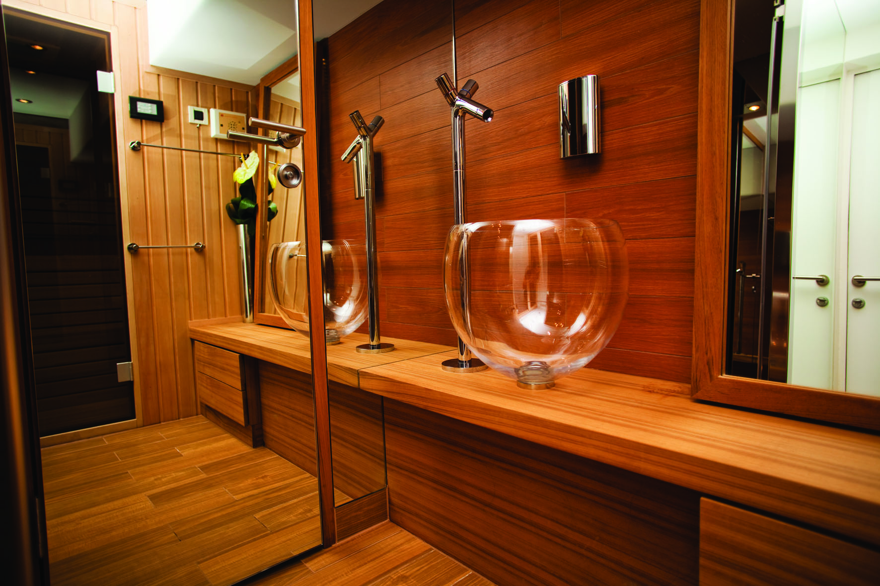 Sauna bathroom design sauna bath design view in gallery for Master bathroom with sauna