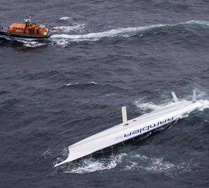 Rolex Fastnet Race: SY Rambler 100 capsized in the Celtic Sea