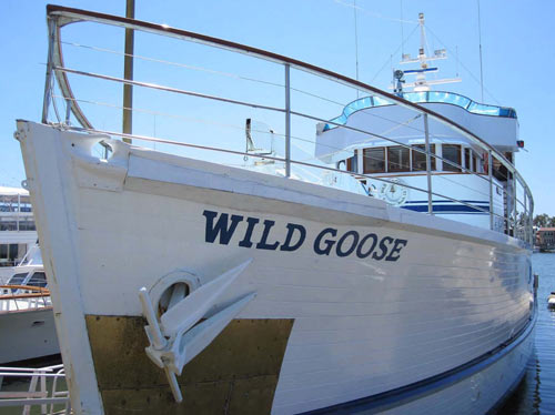 John Wayne's superyacht Wild Goose enters the National Register of Historic Places.