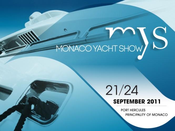 Monaco Yacht Show Logo for 2011
