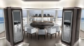 Newcruise designed motor yacht concept TOUCH 60 - Salon