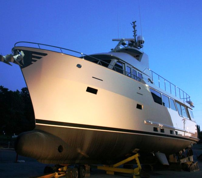 Northern Marine's 6410 sub-chapter T compliant charter yacht AQUILA by Adriel Design