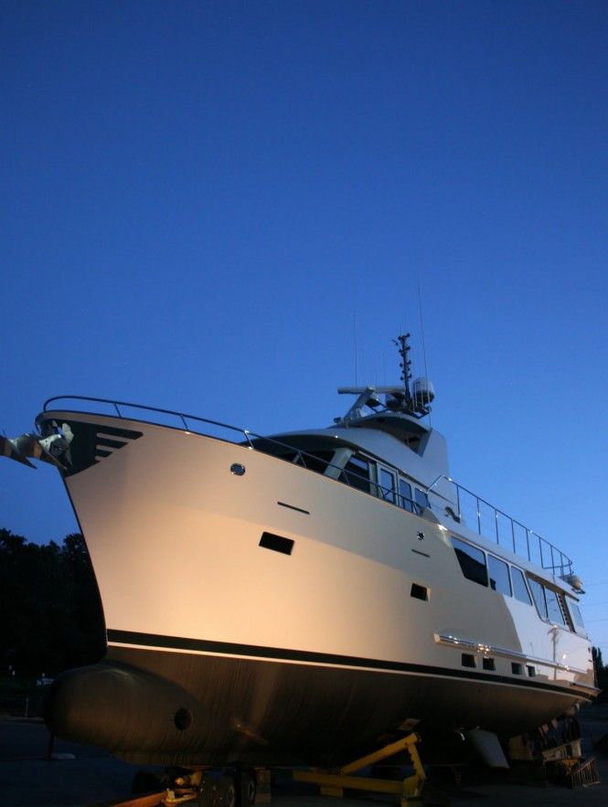 Northern Marine's  6410 sub-chapter T compliant charter yacht by Adriel Design