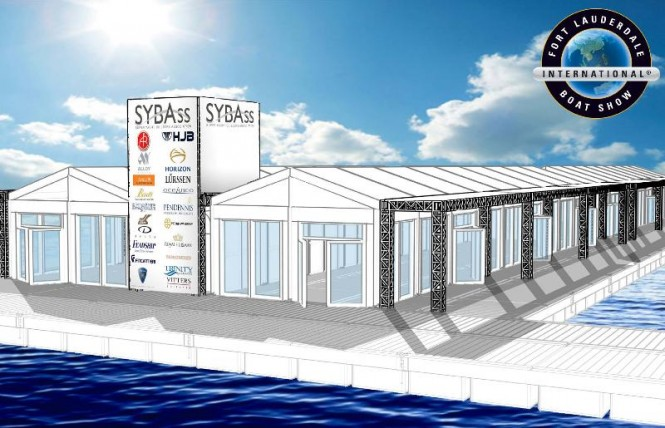SYBAss Pavilion during the 2011 Fort Lauderdale International Boat Show